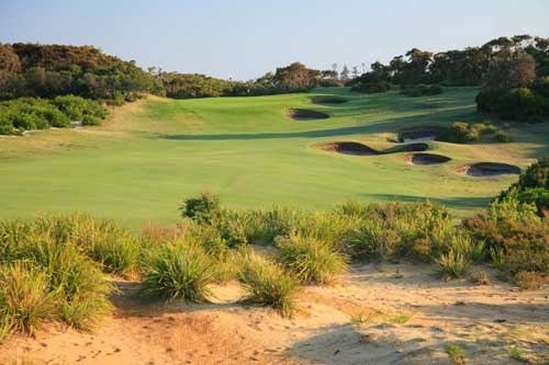 The New South Wales Golf Club Hole 1