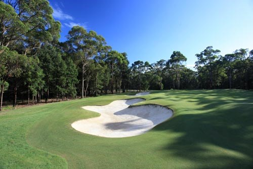 Terrey Hills Golf & Country Club Hole 6