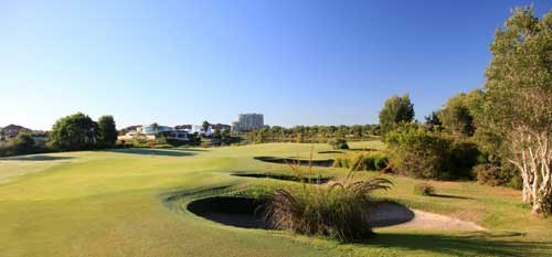 Pelican Waters Golf Club Hole 2