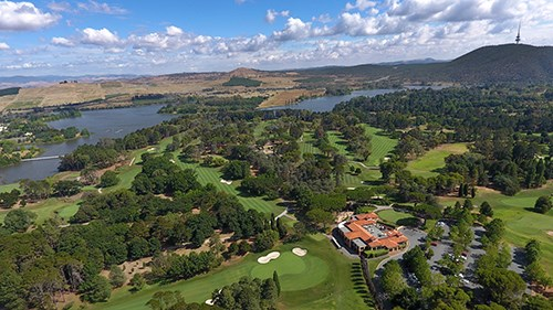 Royal Canberra Golf Club- Westbourne Course  Hole 1