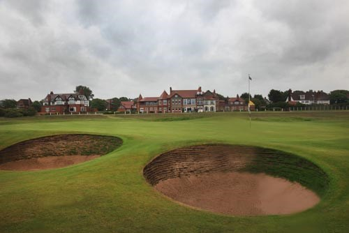 Royal Liverpool Golf Club Hole 17