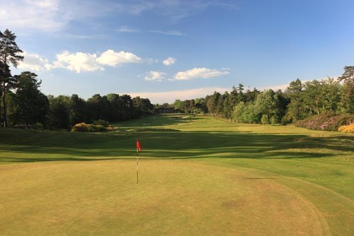 Swinley Forest Golf Club Hole 1
