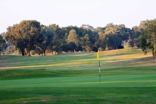 Cobram Barooga Golf Club - West Course Hole 1
