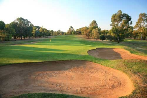Cobram Barooga Golf Club - West Course Hole 2
