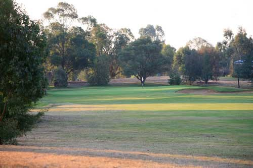 Cobram Barooga Golf Club - West Course Hole 3