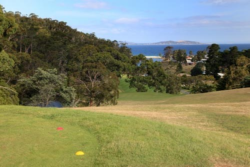 Kingston Beach Golf Club Hole 1