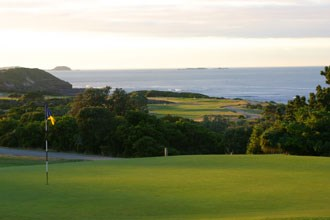 Flinders Golf Club Hole 1