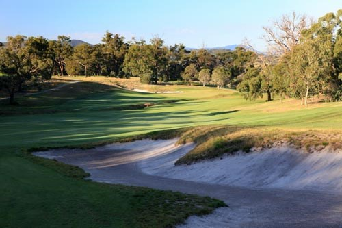 RACV Country Club Hole 8