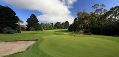 Royal Hobart Golf Club Hole 2
