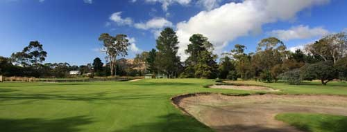 Royal Hobart Golf Club Hole 4
