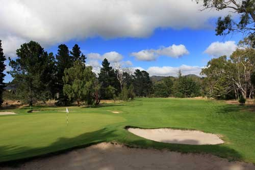 Royal Hobart Golf Club Hole 5