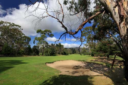 Royal Hobart Golf Club Hole 6