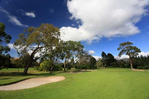 Royal Hobart Golf Club Hole 8