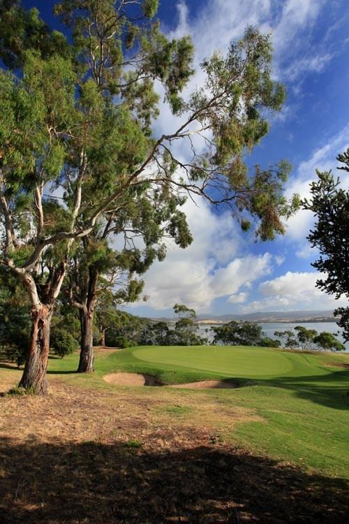 Tasmania Golf Club Hole 2