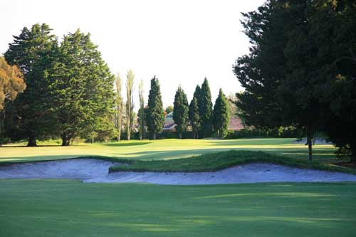 Yarra Yarra Golf Club Hole 2
