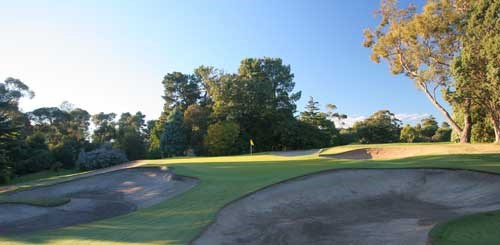 Yarra Yarra Golf Club Hole 4