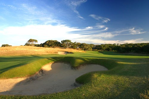 Moonah Links (Open Course) Hole 1