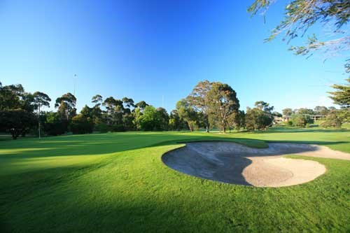 Kew Golf Club Hole 1