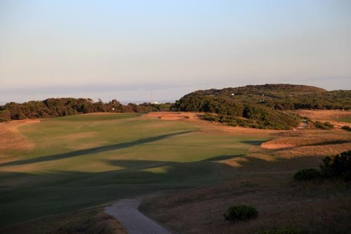 Barwon Heads Golf Club Hole 1