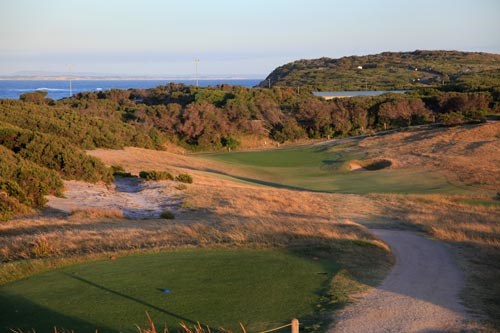 Barwon Heads Golf Club Hole 2