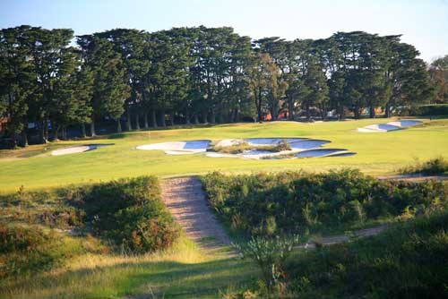 The Royal Melbourne GC (East Course) Hole 1