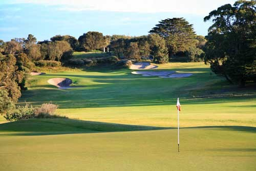 The Royal Melbourne GC (East Course) Hole 2