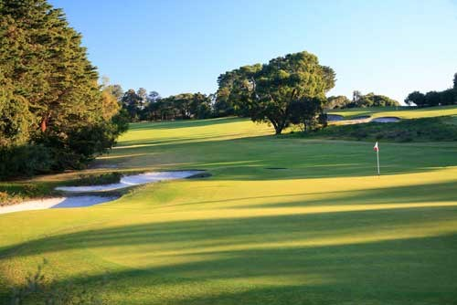 The Royal Melbourne GC (East Course) Hole 3