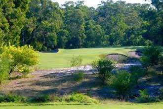 Newcastle Golf Club Hole 1