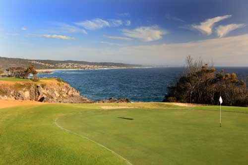 Narooma Golf Club Hole 3