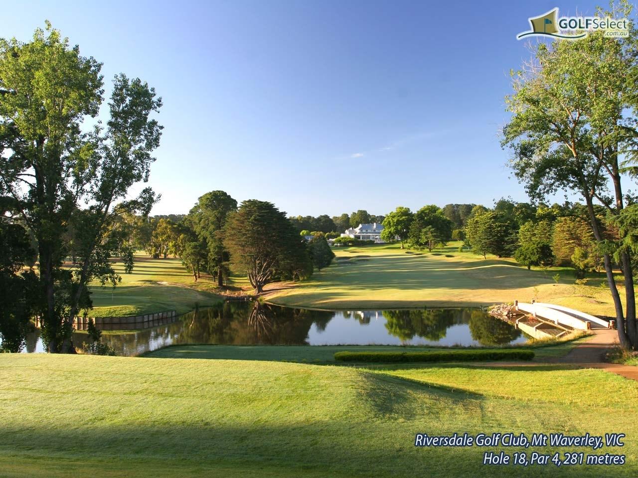riversdale golf club mt waverley victoria 3149 golfselect. Black Bedroom Furniture Sets. Home Design Ideas