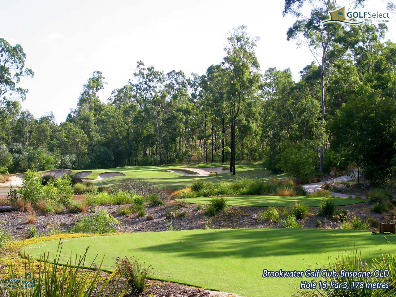 Brookwater Golf & Country Club Hole 16, Par 3, 178 metres