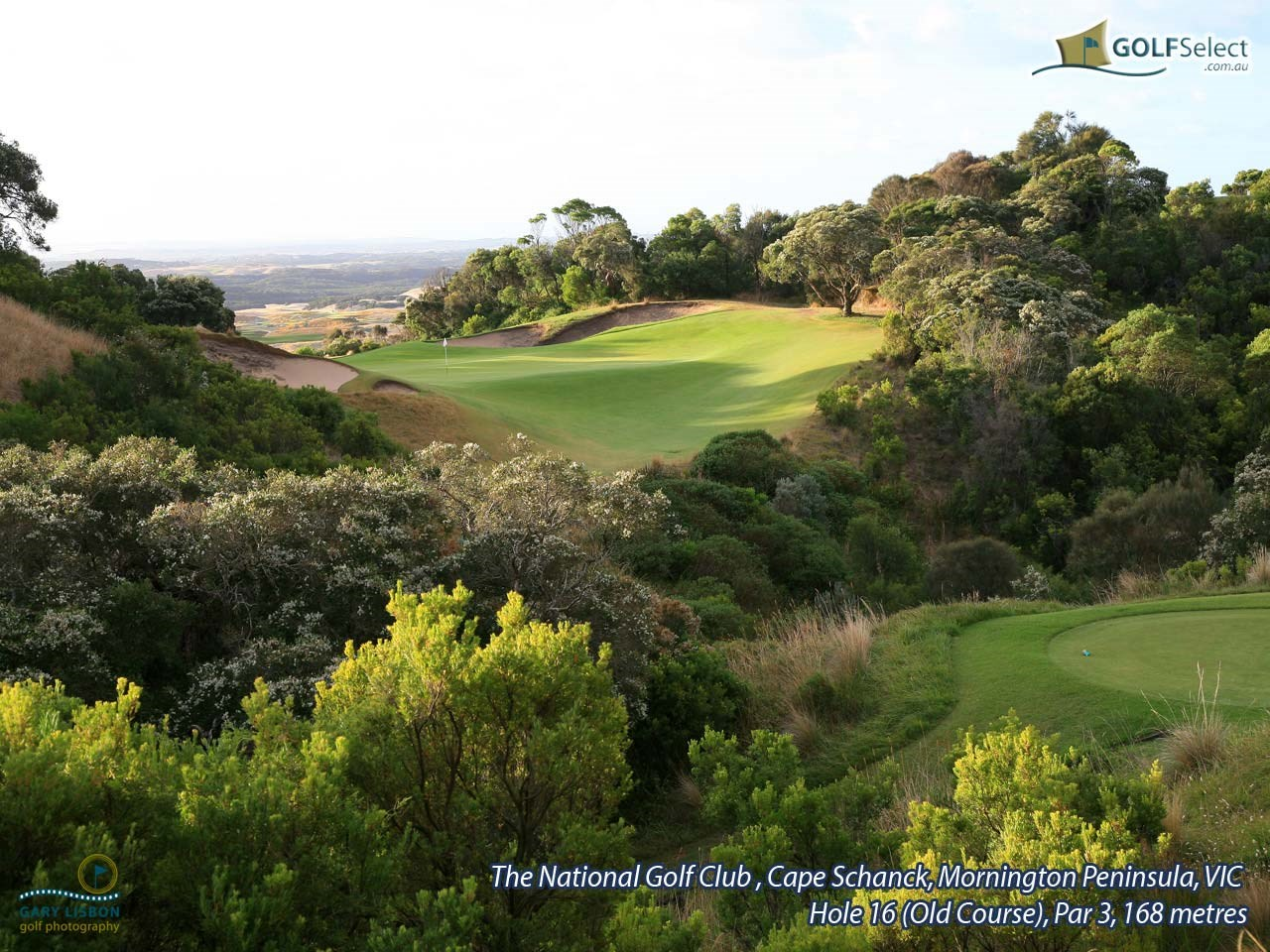 The National Golf Club (Old Course) Hole 16, Par 3, 168 metres