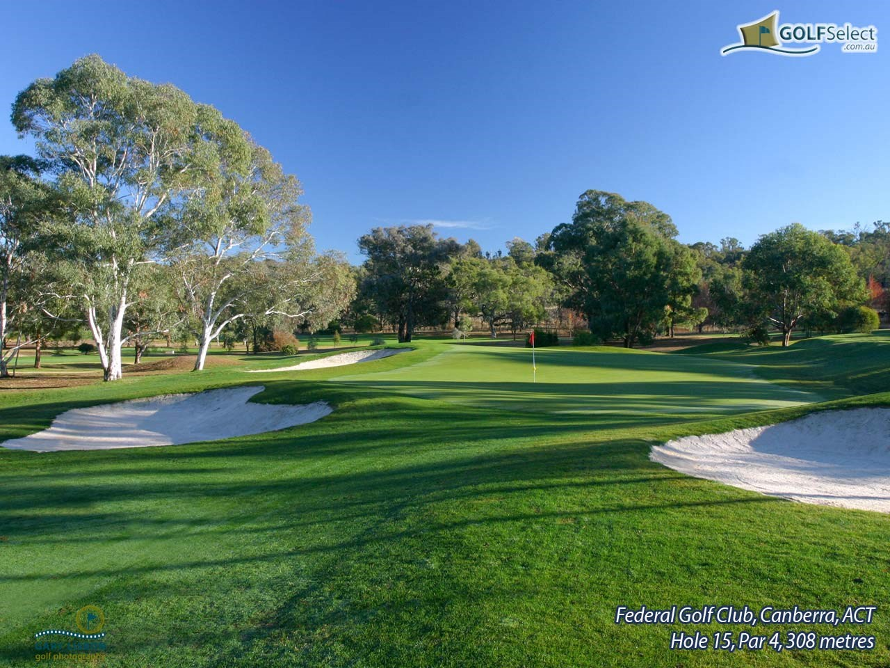 Federal Golf Club Hole 15, Par 4, 308 metres