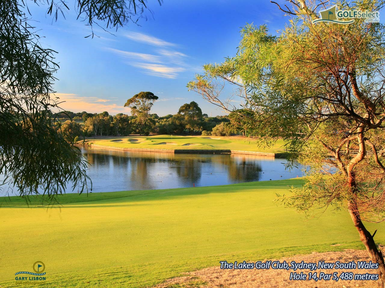 The Lakes Golf Club Hole 14, Par 5, 488 metres