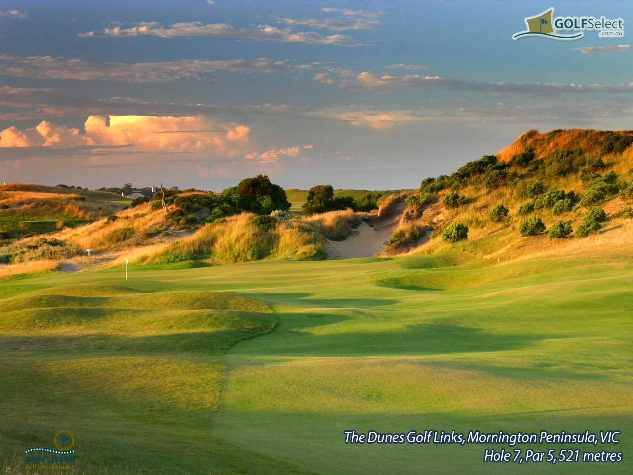 The Dunes Golf Links Hole 7, Par 5, 521 metres
