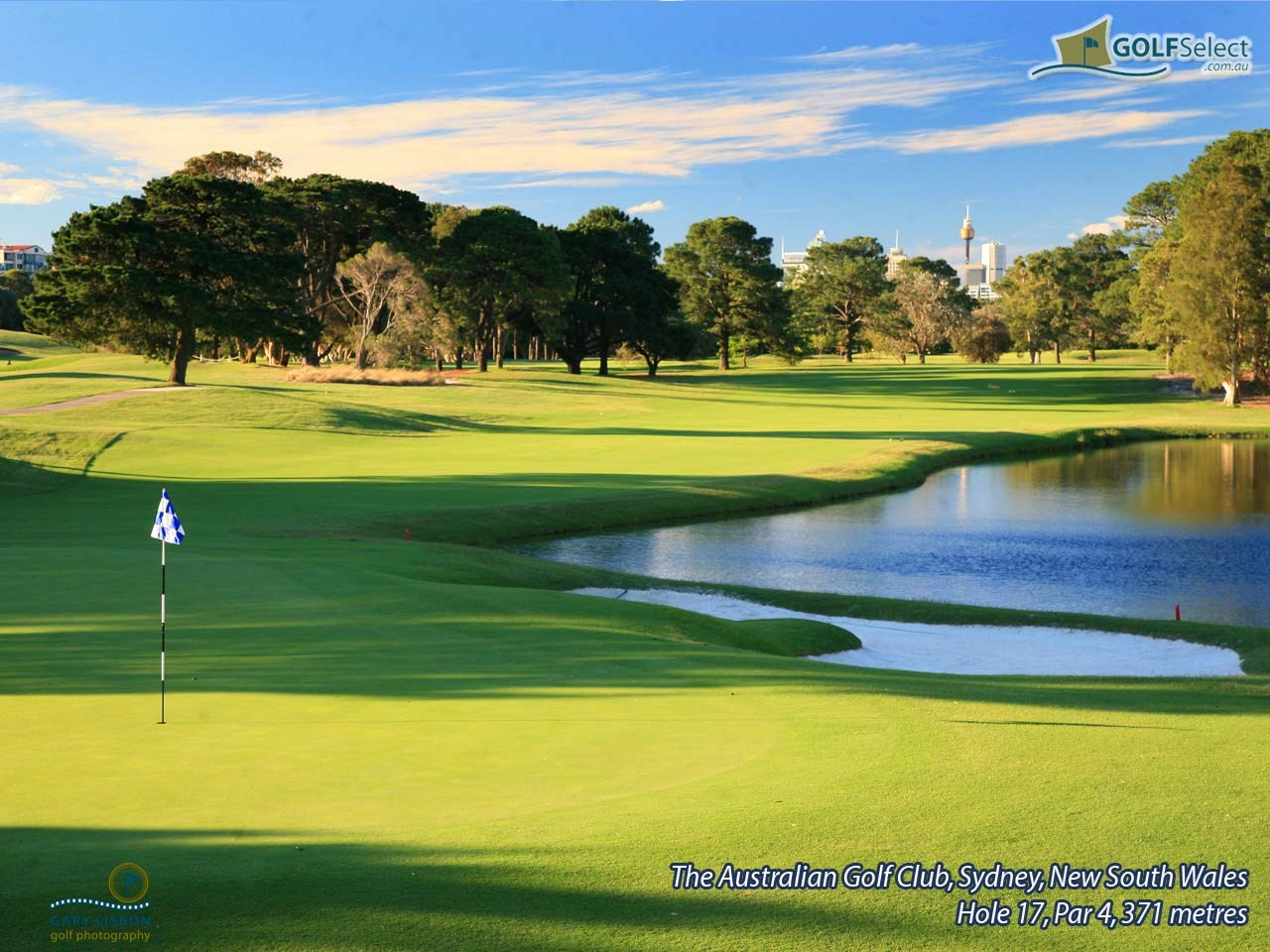 The Australian Golf Club Hole 17, Par 4, 371 metres