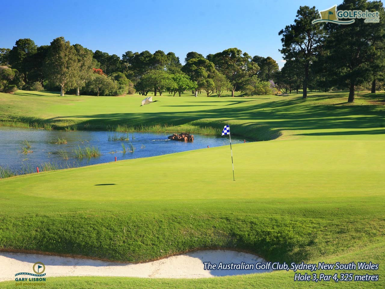 The Australian Golf Club Hole 3, Par 4, 279 metres