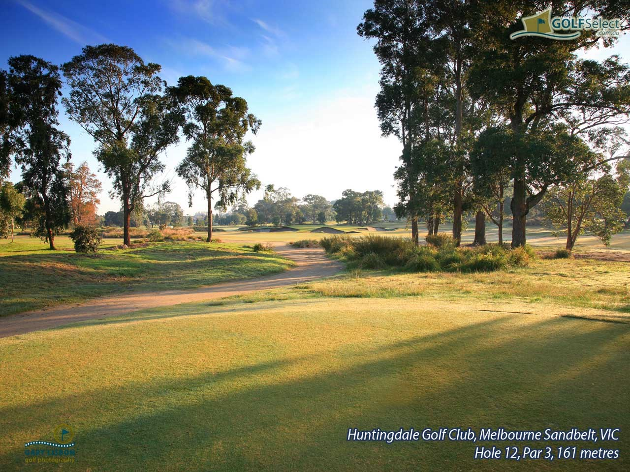 Huntingdale Golf Club Hole 12, Par 3, 161 metres