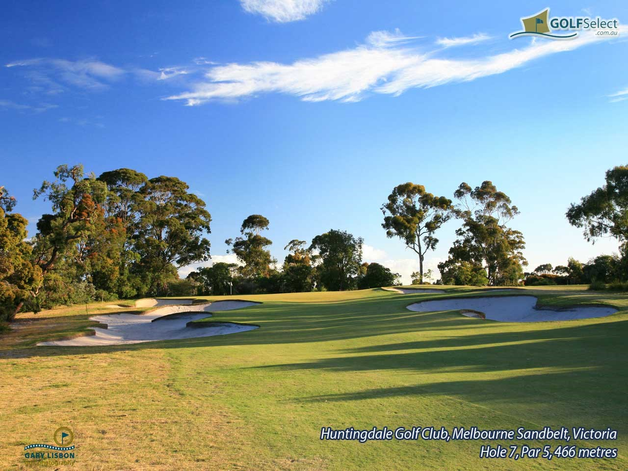 Huntingdale Golf Club Hole 7, Par 5, 466 metres