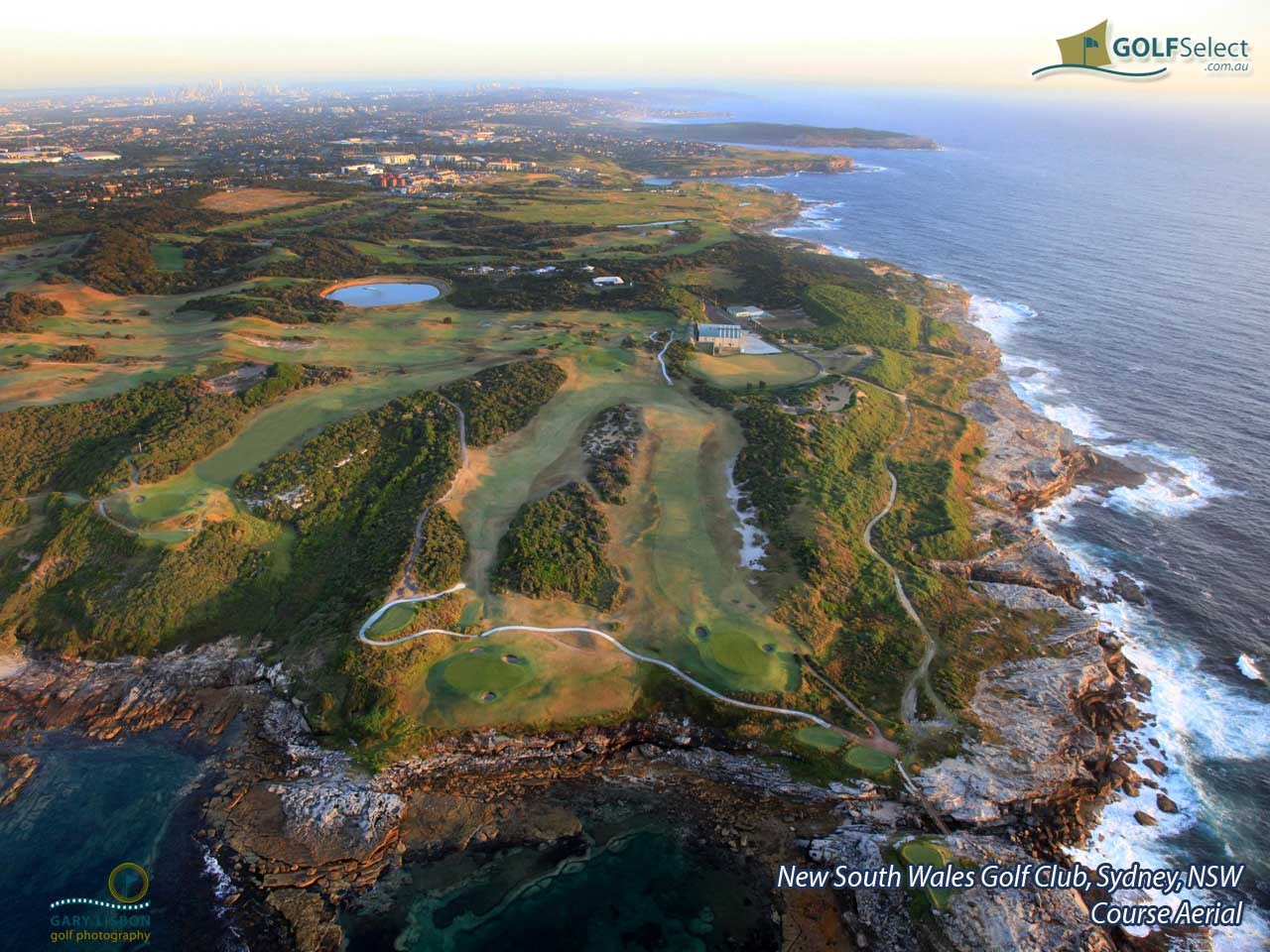 The New South Wales Golf Club Aerial Image of Golf Course