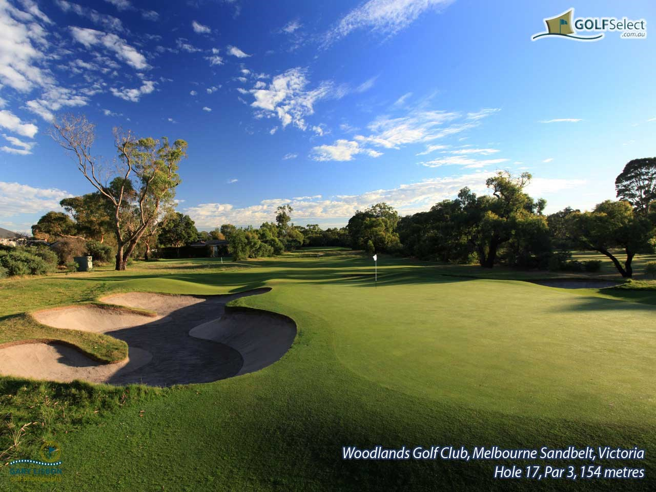 Woodlands Golf Club Hole 17, Par 3, 154 metres