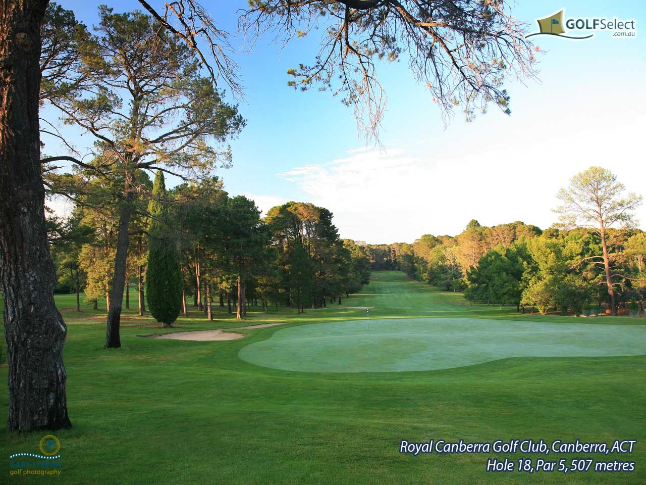 Royal Canberra Golf Club- Westbourne Course  Hole 18, Par 5, 507 metres