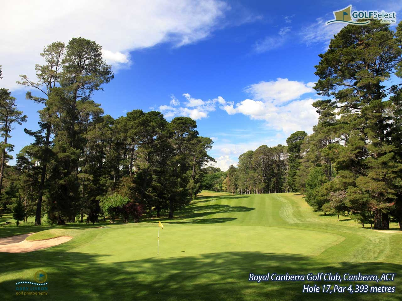 Royal Canberra Golf Club- Westbourne Course  Hole 16, Par 4, 393 metres