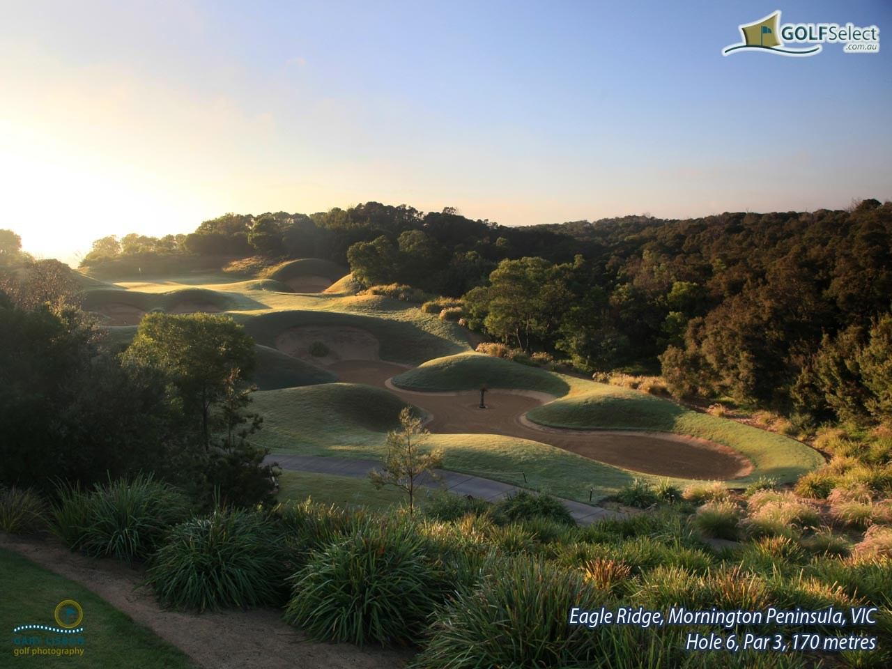 Eagle Ridge Golf Course Hole 6, Par 3, 175 metres