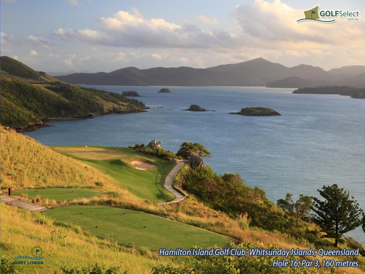 Hamilton Island Golf Club Hole 16, Par 3, 160 metres