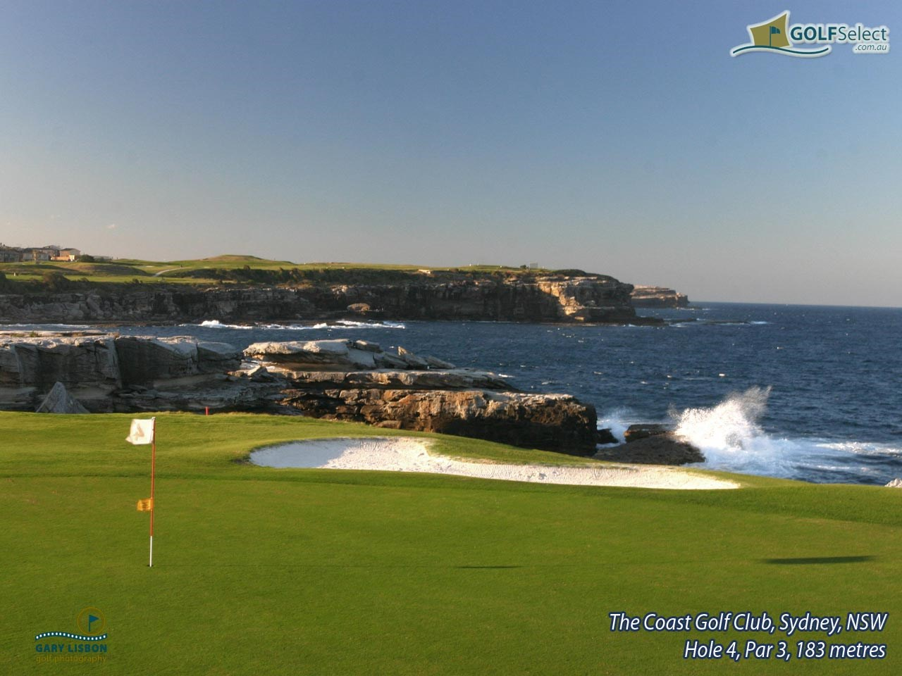 The Coast Golf & Recreation Club Hole 4, Par 3, 183 metres