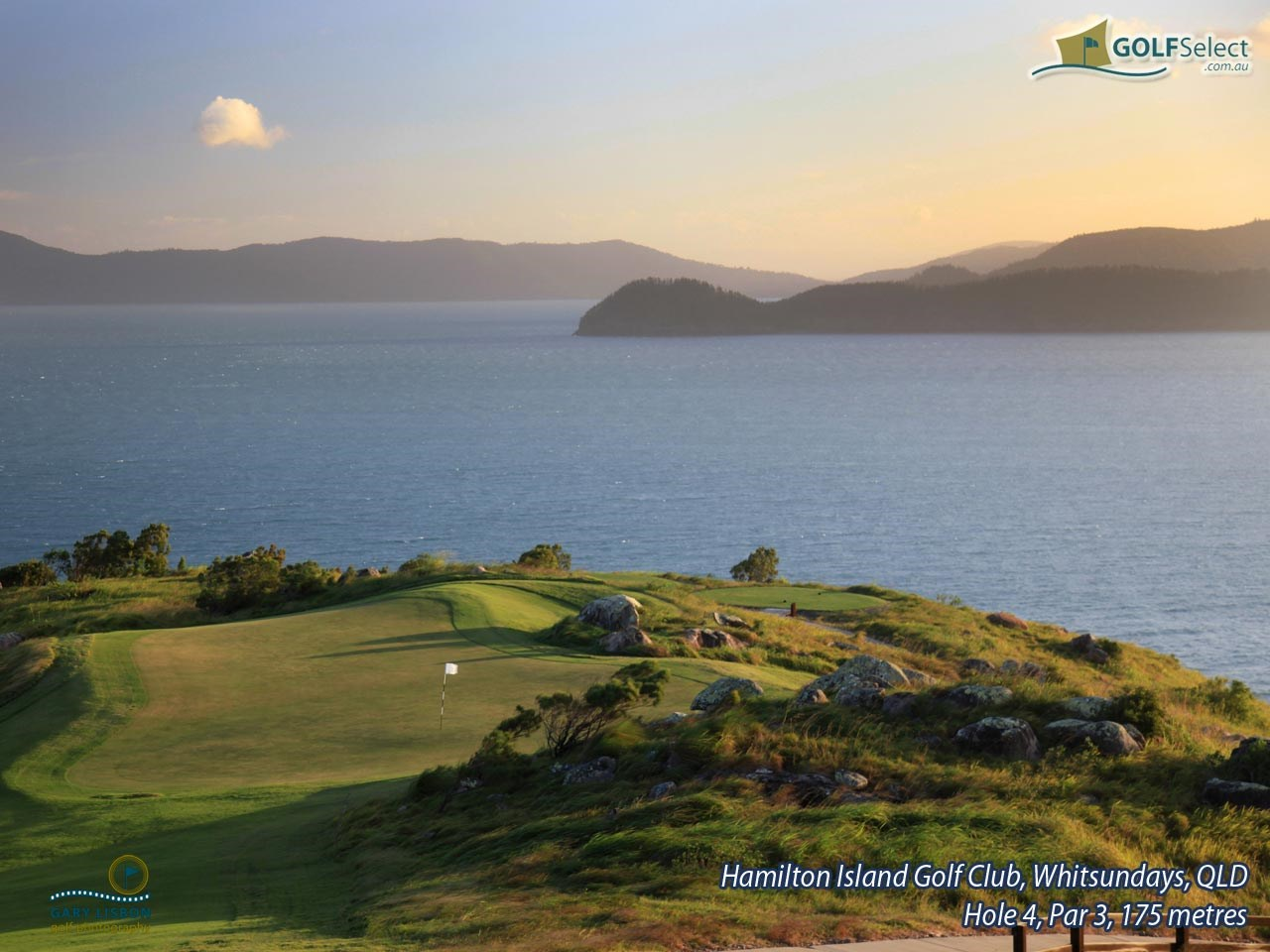 Hamilton Island Golf Club Hole 4, Par 3, 175 metres