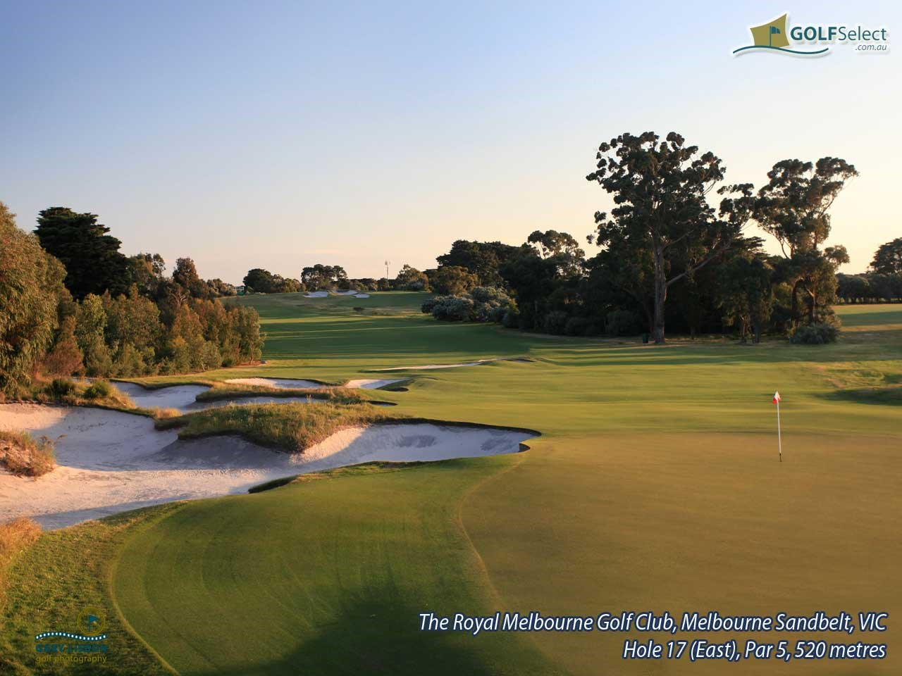 The Royal Melbourne GC (East Course) Hole 17 (East), Par 5, 520 metres