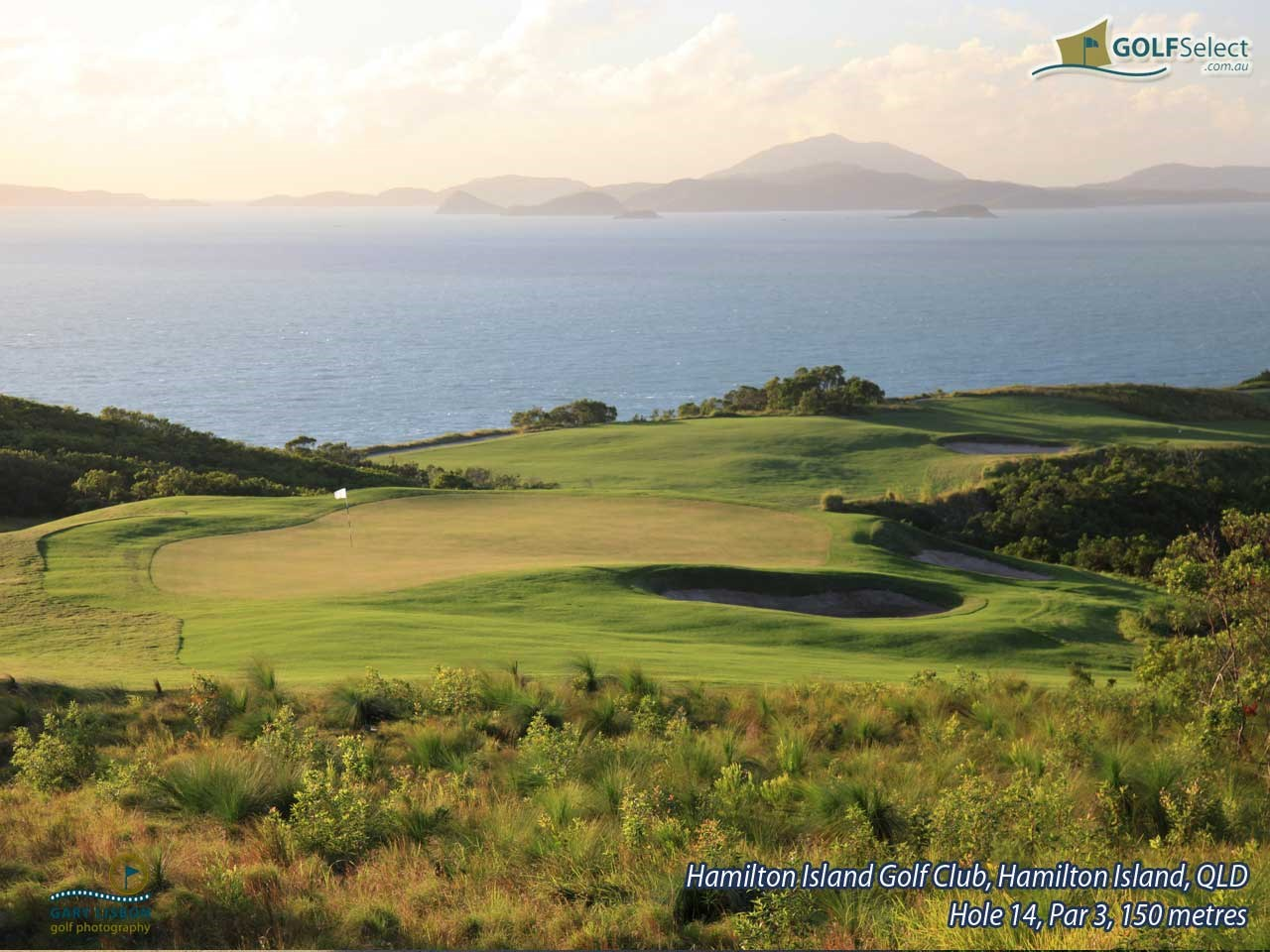 Hamilton Island Golf Club Hole 14, Par 3, 150 metres