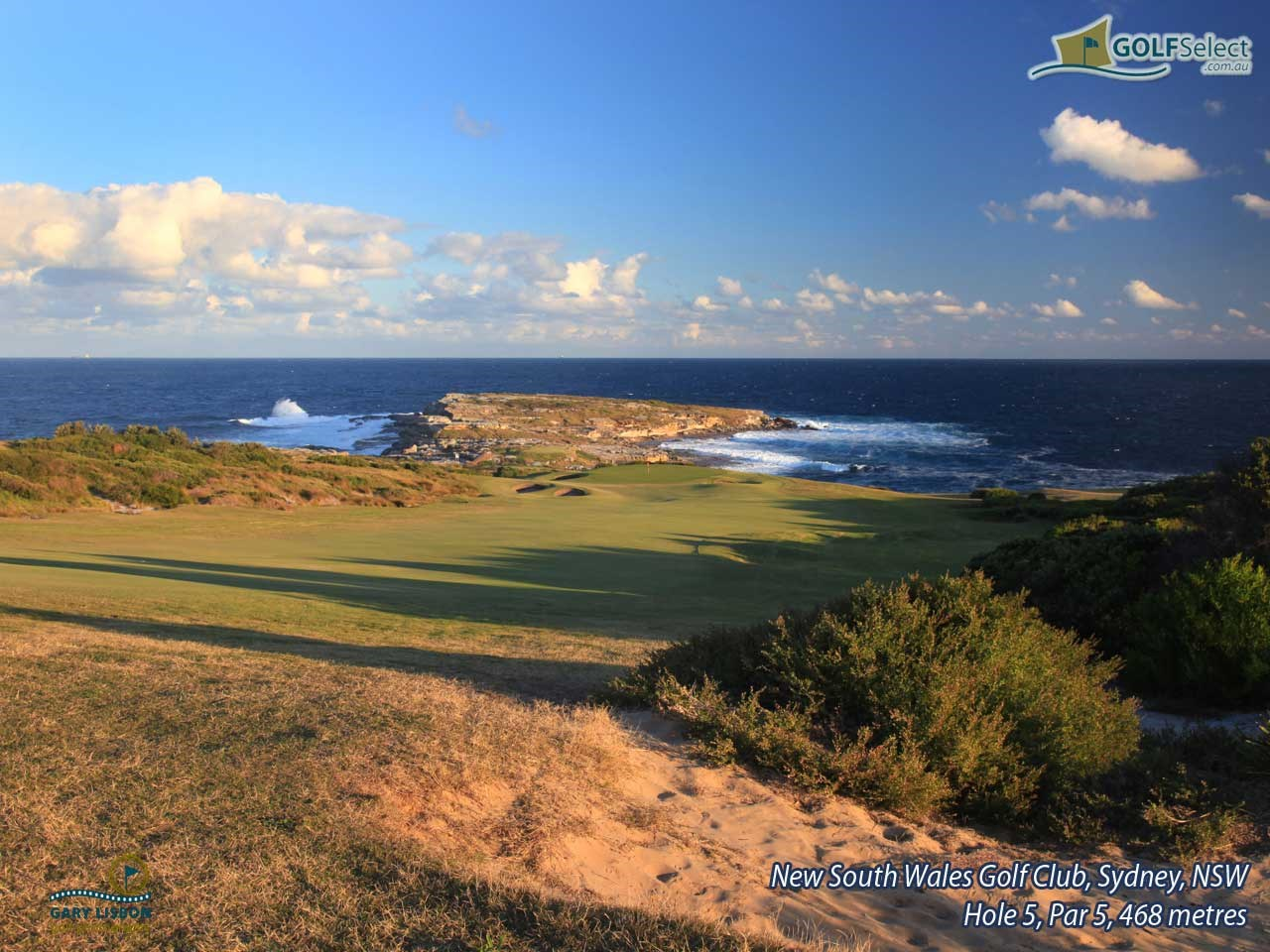 The New South Wales Golf Club Hole 5, Par 5, 468 metres